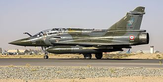 "Dassault Mirage 2000 - 2000D 603 of 3/3 ""Ardennes"" at Kandahar, 2010"