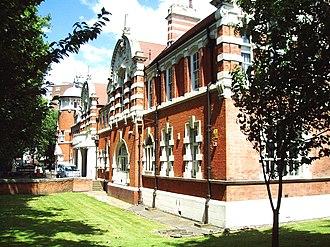 University of East London Stratford Campus - Image: UEL Stratford Campus