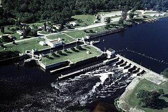 Okeechobee Waterway - Image: USACE St Lucie Lock and Dam