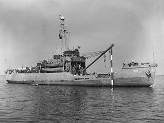 USCGC Blackthorn (WLB-391) - Image: USCGC Blackthorn (WAGL 391) c 1945