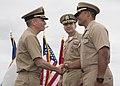 USS Comstock Holds Change of Command 150709-N-RH181-092 (19577207222).jpg