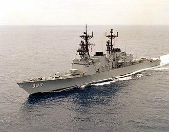 Spruance-class destroyer - Image: USS Ingersoll DD 990