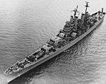 USS Los Angeles (CA-135) underway on 21 March 1951 (NH 93207).jpg