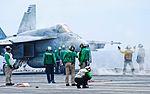 USS Ronald Reagan (CVN-76) - F-A-18E Super Hornet VFA-137 (14175508877).jpg