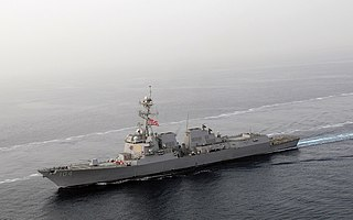 USS <i>Sterett</i> (DDG-104) Arleigh Burke-class destroyer