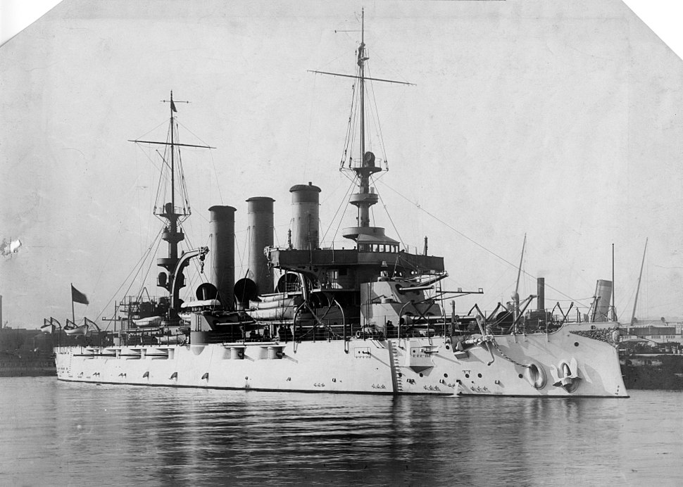 USS Virginia in port