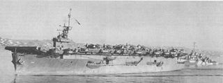 USS <i>White Plains</i> (CVE-66) Escort Aircraft Carrier in service from 1943 to 1946, and notable for action in the Battle off Samar