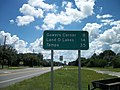 US 41 Gowers Corner sign in Masaryktown.JPG