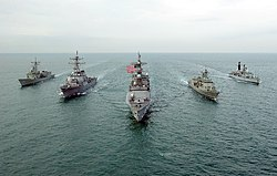 United States Fifth Fleet Wikipedia - Map of us navy 5th fleet area of responsibillity