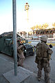 US Navy 071210-M-2819S-062 U.S. Marines with 2nd Platoon, K Company, 3rd Battalion, 5th Marines, hold security near a mosque.jpg