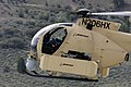 US Navy 090616-M-9917S-143 The Unmanned Little Bird (ULB) helicopter, a smaller variant of the larger, manned A-MH-6M can be controlled by a pilot or piloted remotely.jpg