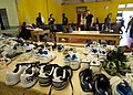 US Navy 110420-N-RM525-580 Samaritan's Feet, a non-governmental organization, donated shoes which were distributed to students at the Alpha Boys Sc.jpg