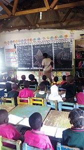 Ugandan nursery school Teacher. 01.jpg