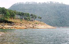 The Umiam Lake near Shillong