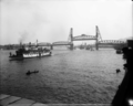 Undine (sternwheeler) departing Portland for Celilo Canal opening May 1915.png