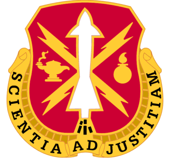 United States Army Ordnance Munitions and Electronic Maintenance School - Distinctive unit insignia