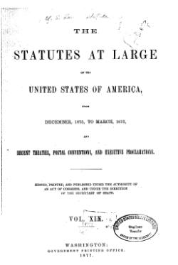 United States Statutes at Large Volume 19.djvu
