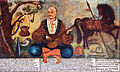 Unknown painter - Zaporozhian Cossack from Crimea (Cossack Mamai) - Google Art Project.jpg