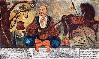 Zaporozhian Cossacks - Zaporozhian Cossack from Crimea