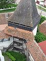 Unul din turnurile de apărare ale zidului bisericii evanghelice din Homorod.jpg