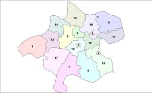 Upper Austria - OberösterreichLänd Bezirke