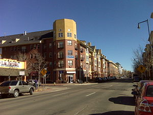 North Capitol Hill, Denver - 19th Avenue in Uptown, Denver