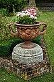 Urn planter at Easton Lodge Gardens, Little Easton, Essex, England 2.jpg