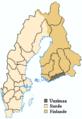 Uusimaa en Finlande au 17e siècle.png