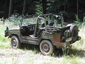 Volkswagen Iltis - Rear view of the Iltis