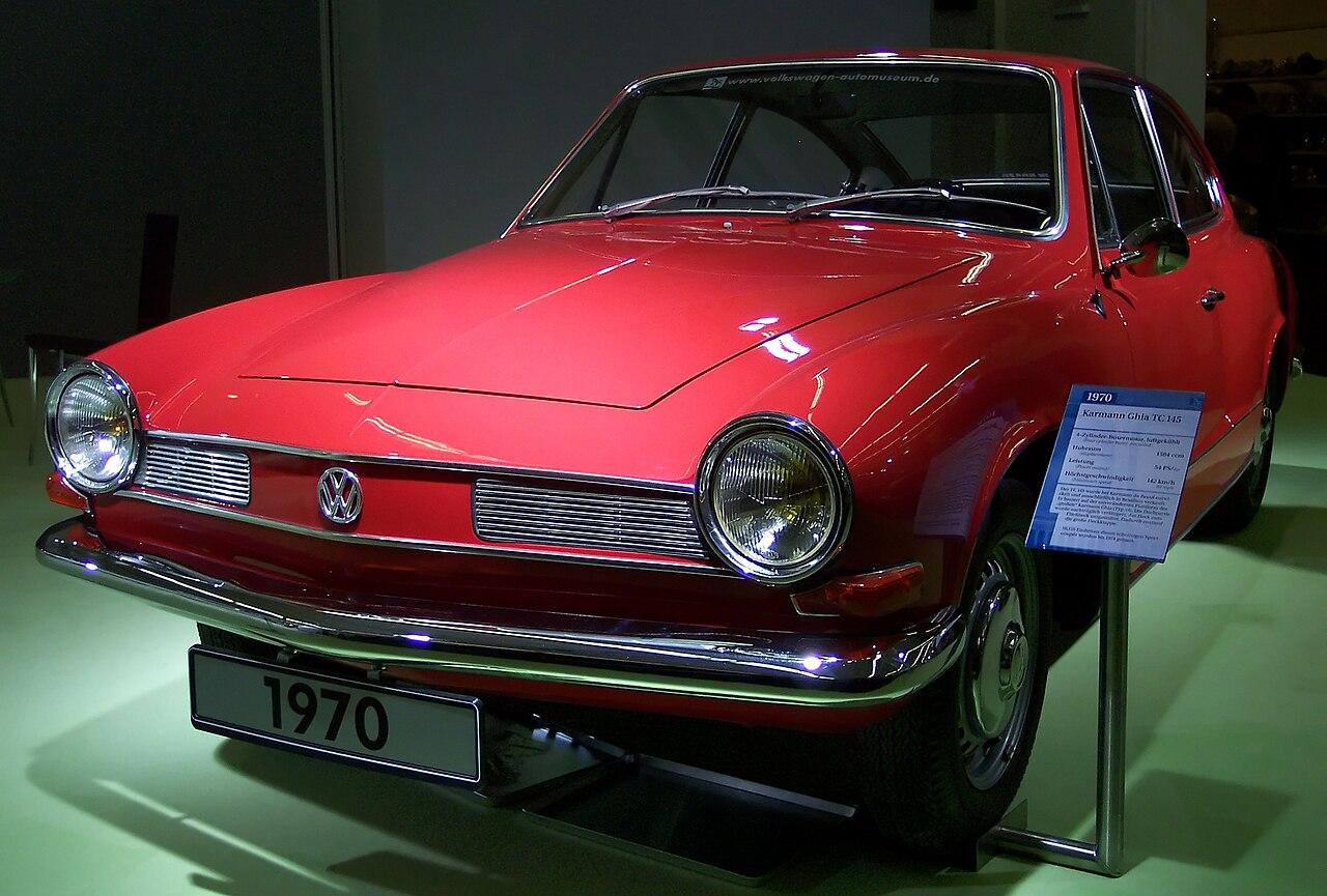 File:VW Karmann Ghia TC 145 red vl TCE.jpg - Wikimedia Commons