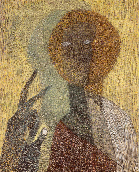 Fájl:Vajda Self-portrait with Hold-up Icon 1936.jpg