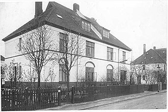 White Houses, Valby - House at Valby Langgade 155
