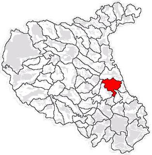 Vânători, Vrancea Commune in Vrancea, Romania