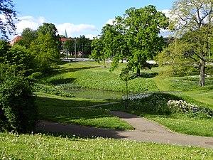 Vennelystparken - Image: Vennelystparken (maj)