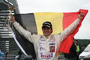 Frédéric Vervisch - Celebrating the 2008 German F3 title