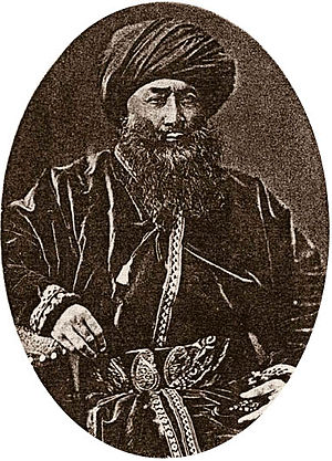 Yaqub Beg - Muhammad Yaqub Beg, from the 1898 book by N.Veselovsky