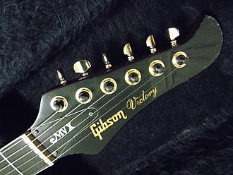 Gibson Victory - Victory MVX Headstock with Adjustable Brass Nut and Locking Self Triming Machine Heads