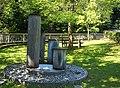 Vier Säulen Brunnen Abzweigung Klamm, Auffahrt Gemeinde Arriach, Bezirk Villach Land, Kärnten.jpg