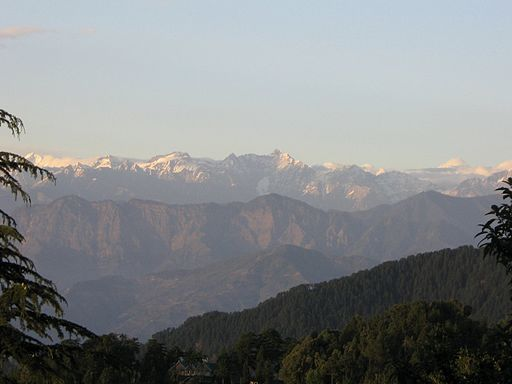 View from Subhash Bowli, Dalhousie - Hill Stations Near Delhi