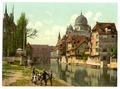 View from the Schutt Isle, Nuremberg, Bavaria, Germany-LCCN2002696165.tif