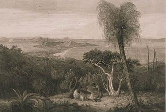 John Byrne (English artist) - View from the south side of King George's Sound, first published in Matthew Flinders' 1814 A voyage to Terra Australis. After a painting by William Westall.