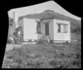 View of Frank Scholes's house, Mangaroa, Upper Hutt. ATLIB 292289.png
