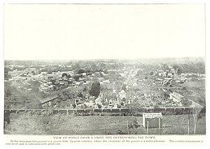 Panteón Nacional Román Baldorioty de Castro - View of the Panteon, circa 1890s (looking south)