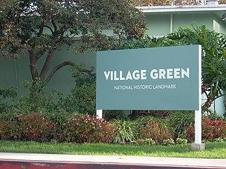 Village Green, Los Angeles - Image: Villagegreen nhl