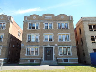 Vine Street Apartment Buildings