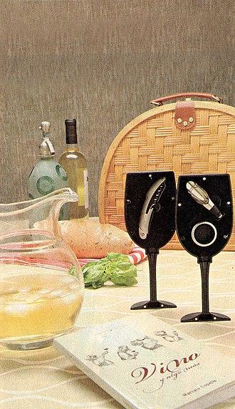 Argentine wine - Image: Vino blanco argentino