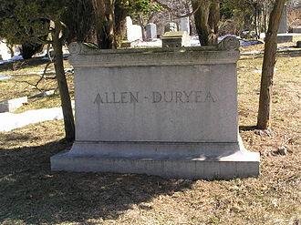 Viola Allen - The gravesite of Viola Allen