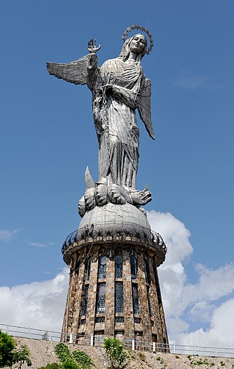 El Panecillo - Virgen de Quito