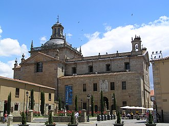 Ciudad Rodrigo - Facade of Capilla de Cerralbo, built between the 16th and 17th centuries.