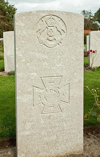 Francis Octavius Grenfell - Grenfell's gravestone in Vlamertinghe Military Cemetery